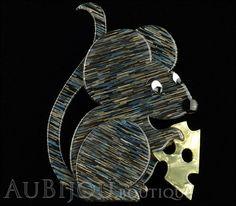 Erstwilder Pin Brooch The Manhattan Mouse