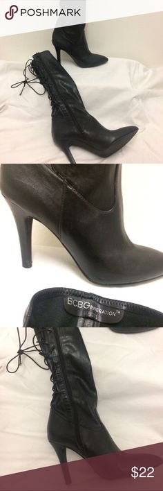 BCBG Boots Heeled black BCBG knee high boots. BCBGeneration Shoes Heeled Boots