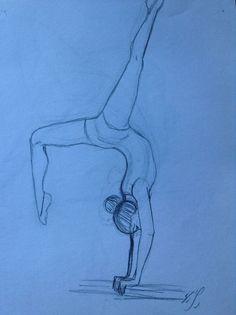 By yenthe joline. рисунки ballet drawings, pencil drawings и art drawings. Girl Drawing Sketches, Girl Sketch, Pencil Art Drawings, Easy Drawings, Portrait Sketches, Drawing Ideas, Ballet Drawings, Dancing Drawings, Dance Art