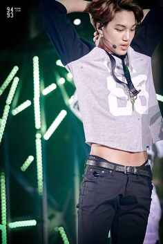 Discovered by ♕ⓃⓘⓃⓘ♕. Find images and videos about kpop, exo and kai on We Heart It - the app to get lost in what you love. Exo Kai, Chanyeol Baekhyun, Hot Korean Guys, Korean Men, Shinee, Rapper, Kim Jongin, Kaisoo, Asian Style