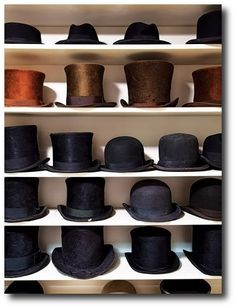 Mens Top Hat Collections
