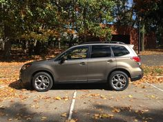 Behold, the 2017 Subaru Forester. The car arrived on a relatively rainy weekend, but I had the chance to take it on a longer trip to Fort Lee Historic Park in New Jersey once the sun came out.