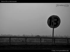 Foggy Race Course