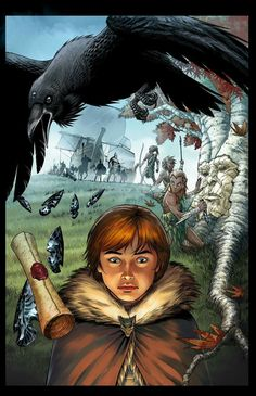 Bran VII - A Game of Thrones, art by Mike S. Miller