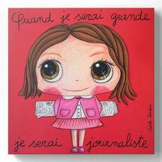 Q7and je serai grand... Cuando Sea Grande, Welcome Baby Girls, Kids Up, When I Grow Up, Art Plastique, Cute Art, Growing Up, Preschool, Cool Stuff