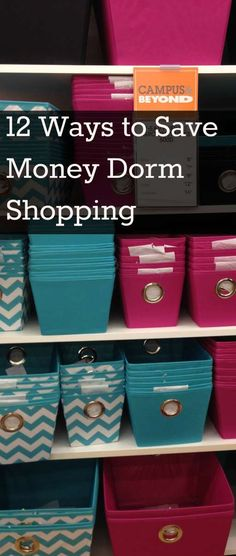 Everything you need to know about dorm shopping and organizing your dorm room. Here is what to buy and not buy and ways to save when sending your kid off to college