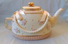 Lenox Teapot with Pink Bows Pink Roses and Gold Trim | eBay