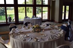 View of the beautiful grounds and balcony Glen Oaks, English Style, Banquet, Balcony, Wedding Planning, Table Settings, Healthy Recipes, Table Decorations, Beautiful
