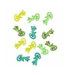 Buttons: Geckos - Dress It Up 5825
