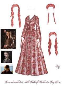 ASOIAF paperdolls - Sansa Stark - Brown dress by maya40.deviantart.com on @deviantART