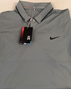39af96eb Nike Tiger Woods Collection Golf Polo Shirt Men's Short Sleeve Size Large  New #Nike #