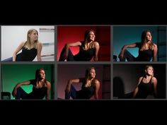 How To Create A Photo Studio Anywhere Using A Snoot And Color Gels - YouTube