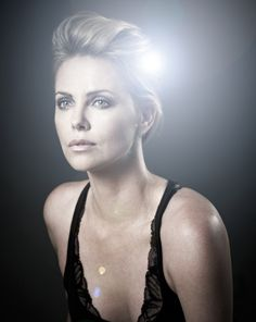 Charlize Theron by Andy Gotts
