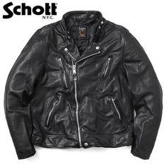 Schott ショット 3181067 ダブル ブレスト ライダースジャケット メンズ 革ジャン レザージャケット 本革 ブルゾン アメカジ ブランド【クーポン対象外】 Riders Jacket, Motorcycle Jacket, Fashion Wear, Punk Rock, Give It To Me, Leather Jackets, How To Wear, Sweet, Candy