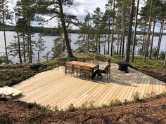 Archipelago, Four Seasons, Ecology, Finland, Sustainability, Villa, Deck, Patio, Contemporary