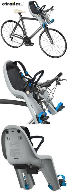 04e08a4d96a Thule RideAlong Mini Child Bike Seat - Front Mount - Light Gray Thule Bike  Accessories TH100104