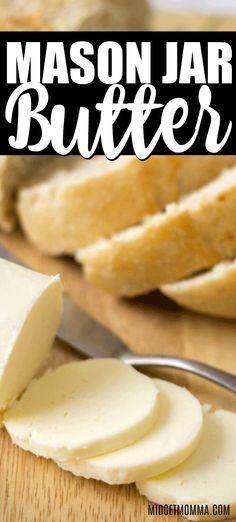 Nothing tastes better then Homemade Butter! I much prefer homemade butter and it is quick and easy to make homemade butter! Flavored Butter, Butter Recipe, Brunch, Meals In A Jar, Different Recipes, Diy Food, Chutney, Cooking Recipes, Kid Cooking