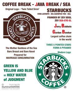 Starbucks Logo Illuminati