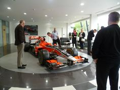 Marussia F1 factory tour