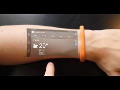 Pulsera Cicret Bracelet Convierte tu Brazo en una Tablet