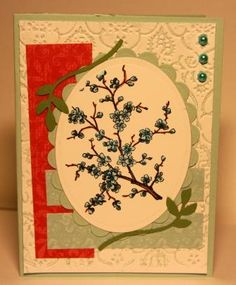Easter Blossoms tiny blue by asbrewer - Cards and Paper Crafts at Splitcoaststampers