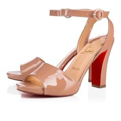 b9db7c074ae Christian Louboutin United States Official Online Boutique - Havana Forties  100 Nude Patent Leather available online. Discover more Women Shoes by  Christian ...