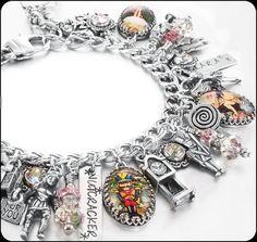 Nutcracker Jewelry - Christmas Bracelet - Charm Bracelet - Holiday Jewelry - Sugar Plum Fairy