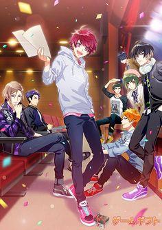 "Season Spring & Summer (TV) 2020 (""Act! centered on actors from the fictional talent agency Mankai Company. Chibi Boy, Anime Chibi, Manga Anime, Anime Art, Manga Cute, Manga Boy, Tsukiuta The Animation, Stray Dogs Anime, Handsome Anime Guys"