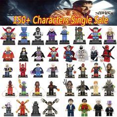Newest DC Marvel Super Heroes Doctor Strange mini dolls lepin Justice League Avengers blocks model & building toys 70912