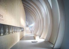 La Cité du Vin wine museum by XTU Architects, Bordeaux – France Bordeaux France, Bordeaux Wine, Partition Design, Interior Architecture, Interior Design, Wine Display, Museum Displays, Design Blog, Dezeen