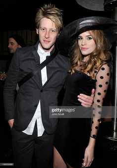 Gabriel Mann and Christa B. Allen attend Christa B. Allen's 21st birthday with Juicy Couture benefiting The Mayor's Fund to Advance New York City Aiding Hurricane Sandy relief efforts at Petit Ermitage Hotel on November 10, 2012 in West Hollywood, California.