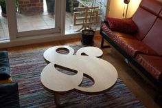 The Herb Lubalin ampersand table http://www.behance.net/gallery/Ampersand-Table/8186379