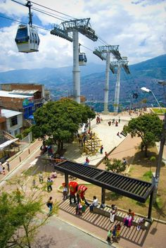 Northeastern Urban Integration Project in Medellín, Colombia, Courtesy of Harvard GSD