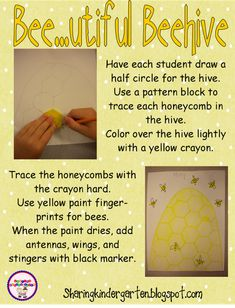 Bee...utiful Beehive Art... so easy, fun, and do-able!