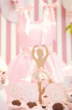 Angelina Ballerina Birthday Party Supplies | items used in this ballet party available in kara s party ideas shop ...