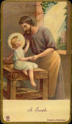 Saint Joseph was a just man, a tireless worker, the upright guardian of those entrusted to his care. May he always guard, protect and enlighten families. - Pope John Paul II