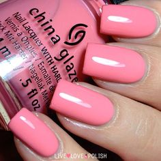 China Glaze Pinking Out The Window Nail Polish (Road Trip Collection)