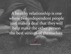We love this.. we are sure it isn't about saying what's wrong with your partner but encouraging them to GROW their positive attributes a little each day!