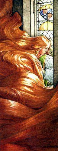 "P.J. Lynch ILLUSTRATION   ""Rapunzel"""