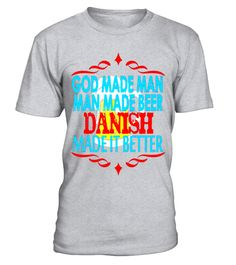 "# God Beer Danish T Shirt Beer Gift Denmark .  Special Offer, not available in shops      Comes in a variety of styles and colours      Buy yours now before it is too late!      Secured payment via Visa / Mastercard / Amex / PayPal      How to place an order            Choose the model from the drop-down menu      Click on ""Buy it now""      Choose the size and the quantity      Add your delivery address and bank details      And that's it!      Tags: Man made beer by the Danes are great at…"