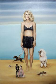 Seraphine Pick - NZ artist New Zealand Art, Nz Art, Kiwiana, Public Art, Artist Painting, Contemporary Paintings, Amazing Art, Art Gallery, Portrait Paintings
