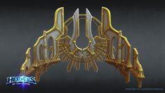 ArtStation - Heroes Of The Storm - Heaven Floating walls, Nicholas Reid