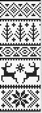 Popular fair isle knitting patterns fair isle knitting chart with deer, snowflake and pine trees MQISXTG Fair Isle Knitting Patterns, Fair Isle Pattern, Knitting Charts, Knitting Stitches, Knitting Designs, Knitting Projects, Knitting Machine, Tejido Fair Isle, Punto Fair Isle