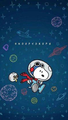 snoopy wallpaper no espaço
