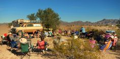 Over 40 of us on a beautiful Thanksgiving day in the beautiful Arizona desert. Life doesn't  get any better than this!