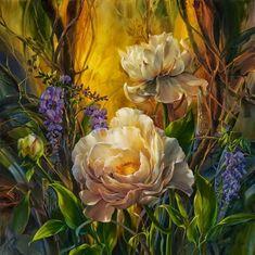 Gambar Lukisan Bunga