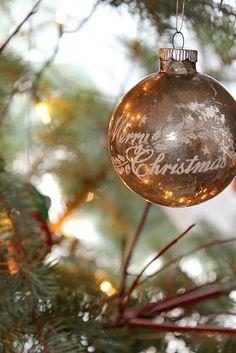 Pretty vintage ornament