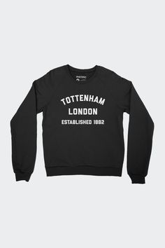 Tottenham Hotspur FC Inspired Raglan Sweatshirt 4a6a0e42778b