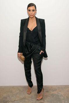 Kim Kardashian's sexy black bodysuit for date night: 4 ways to wear them