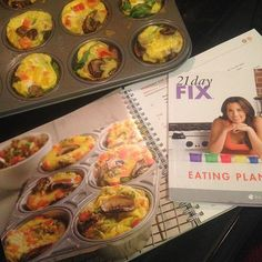 Vegetable egg cups from the new Fixate Cookbook! Yum! Can't wait for my morning snack  Ask me how you can get your hands on this awesome cookbook #fixate #21dayfix #eatclean #diet #nutrition #fit #fitlife #breakfast